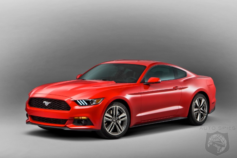 All 2015 Mustangs Destined For The UK Sell Out In Just 30 Seconds