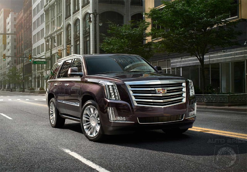 Cadillac Prices 2015 Escalade Platinum At An Eye Popping $90K! - Do The Germans Need To Lose Any Sleep Over This?