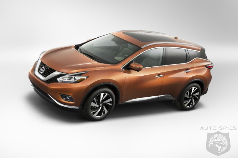 NEW YORK AUTO SHOW: Too Main Stream Or Just Right? Nissan Debuts 2015 Murano