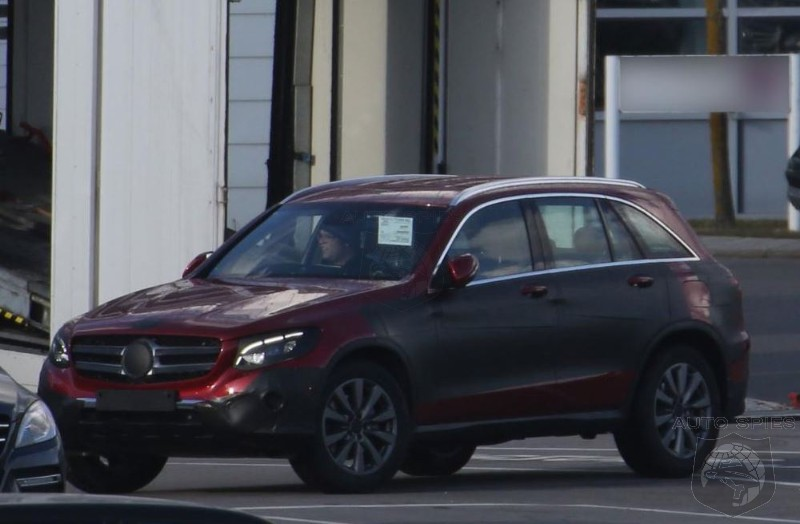 Mercedes GLC Caught In The Wild - Does BMW's X3 Stand A Chance?
