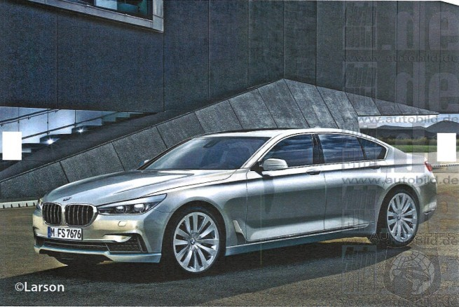 STUD OR DUD? Video Catches 2015 BMW 7 Series On The Prowl