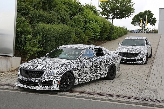 2016 CTS-V Caught Testing At Nurburgring. - Who Should Worry?