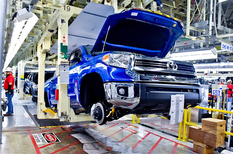 Toyota To Invest $391 Million In Texas Tundra/Tacoma Assembly Plant