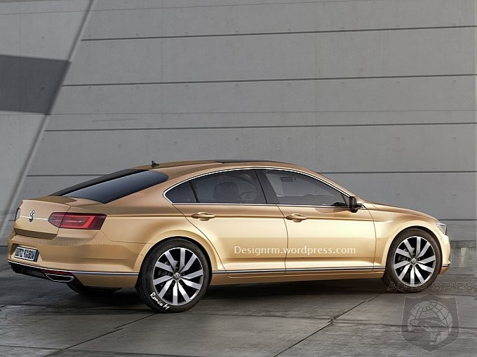 2016 Volkswagen CC Rendered - Is It Good Enough For You To Crack Open The Wallet?