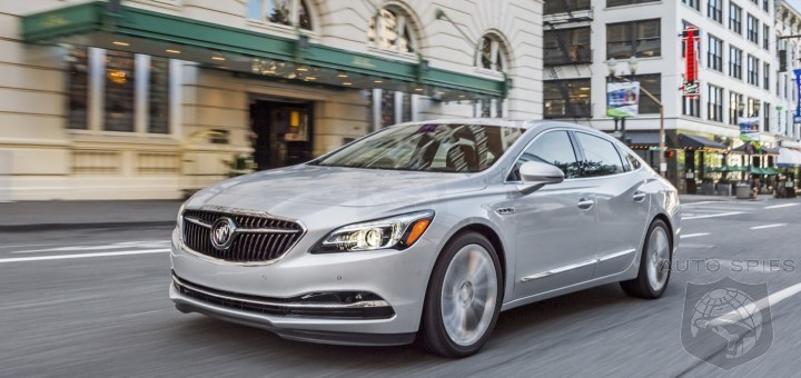Buick Inventories Reveal That There Are Enough LaCrosses To Last A Year