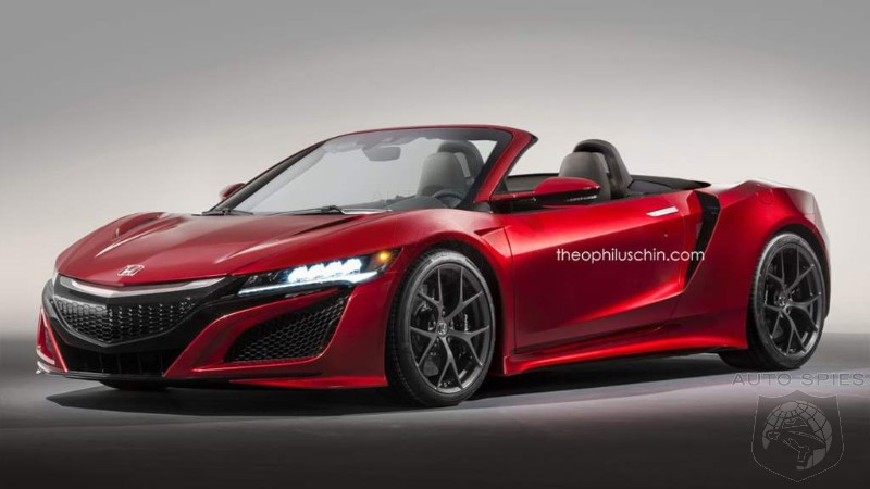 Keep Your Fingers Crossed: Topless NSX Could Debut Sometime This ...