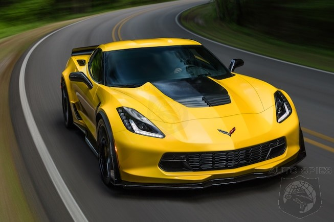 performance dead chevrolet throws 9000 on the hood of the 2017 corvette z06 autospies auto news. Black Bedroom Furniture Sets. Home Design Ideas