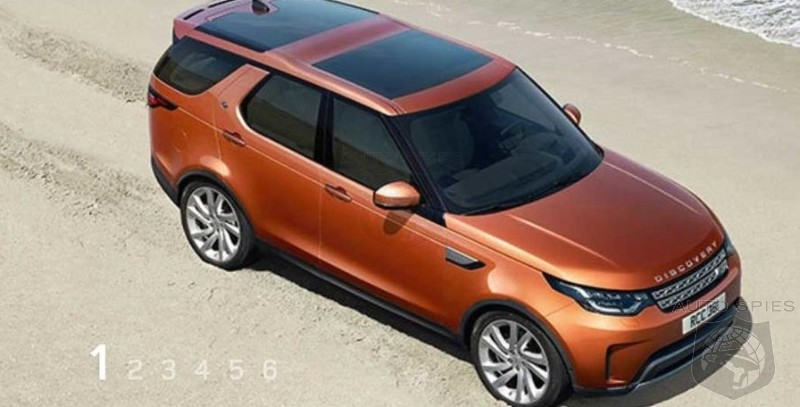 PARIS MOTOR SHOW 2017 Land Rover Discovery Images Leak Out Ahead Of Official Debut