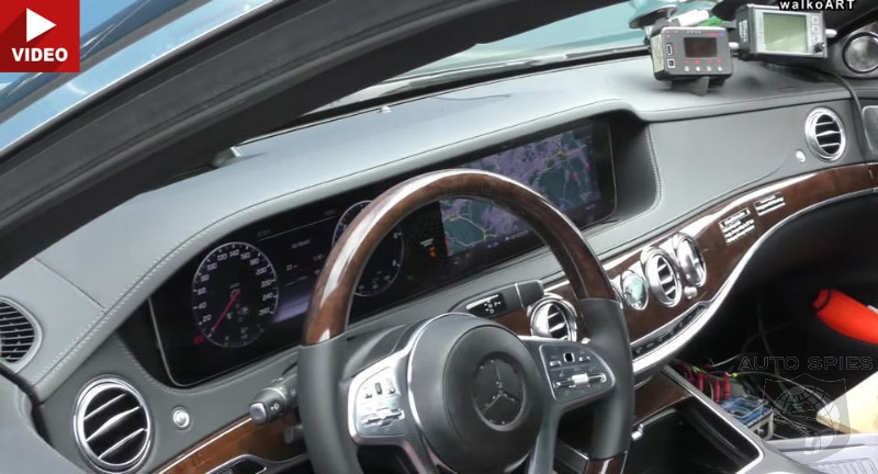 STUD OR DUD Video Reveals The Best Look Yet At The 2017 Mercedes S Class Interior
