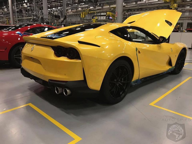STUD OR DUD First Real Life Photos Of The 2018 Ferrari 812 Superfast Leak Out