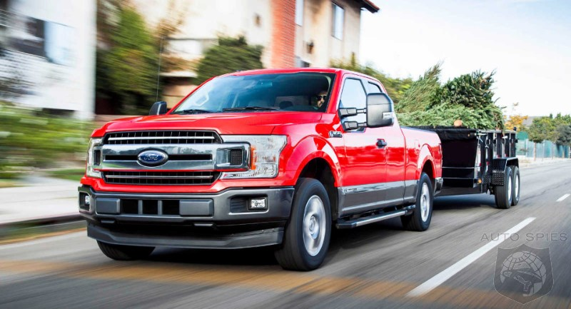 Ford Goes On The Offensive And Will Answer EV Threat With An All Electric F-150