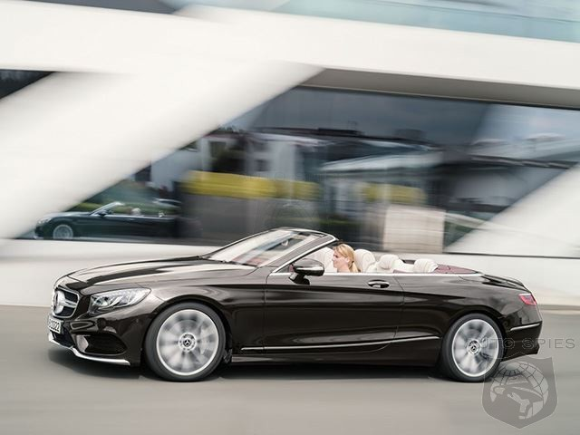 Will Mercedes Turn Heads At The Country Club With The 2018 S-Class Cabriolet?