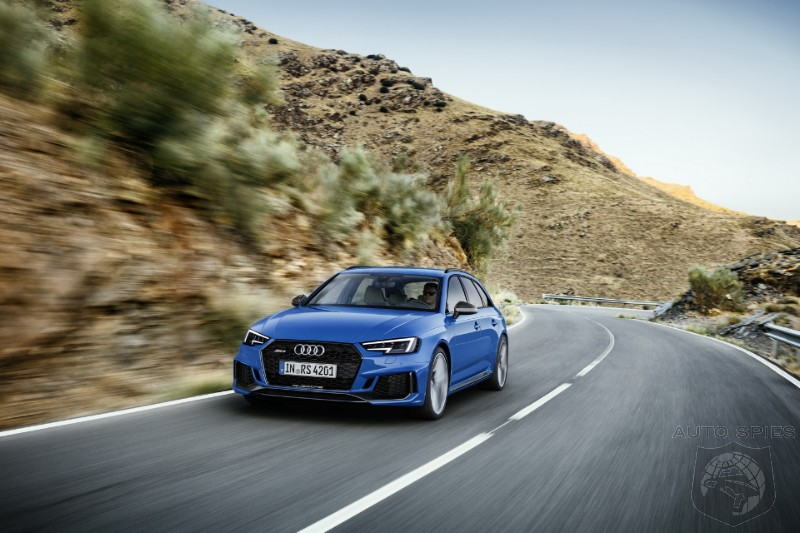 Audi Reveals The 2018 RS4 Avant With A Stunning 0-60 Time Of Only 4.1 Seconds!