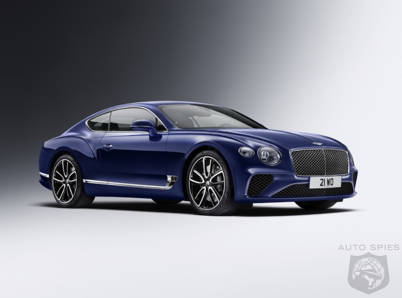 2018 Bentley Continental GT Sports Sleek New Look And EXP 10 Cues