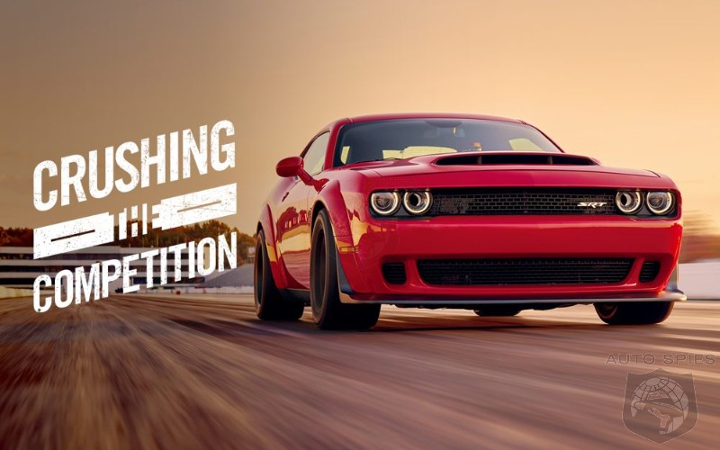Dodge Credits Boost In Challenger Sales To Demon Ads