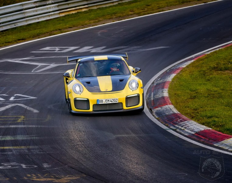 Ride Along As Porsche's 2018 911 GT2 RS Rips Through Nurburgring In Just 6 Minutes And 47.3 Seconds