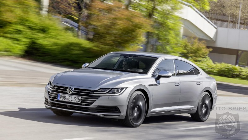 400HP Volkswagen Arteon R Will Beat Down The Porsche Panamera Claims Company Official
