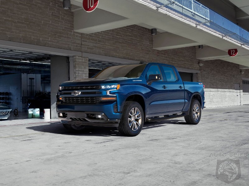Why Bother? Chevrolet Debuts Turbocharged 4 Cylinder Silverado - Gains 2 MPG Over V8