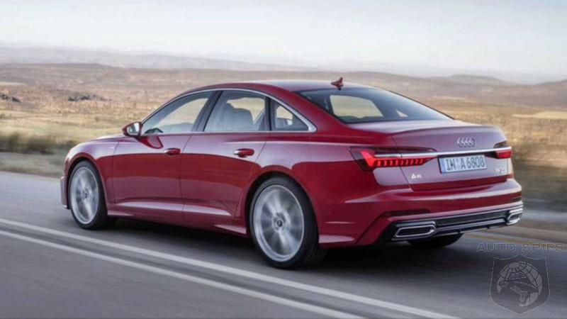 #GIMS: Audi's 2019 A6 Gets Let Out Of The Bag Early - An E-Class Killer Now?