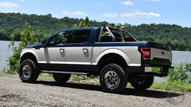 Dealer Turns Back The Clock To The 70's With Ultra Cool Retro F150 Package