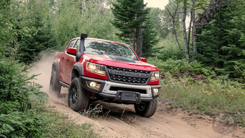 Wow! That Was Fast: Chevrolet Colorado ZR2 Bison Already Sold Out For 2019