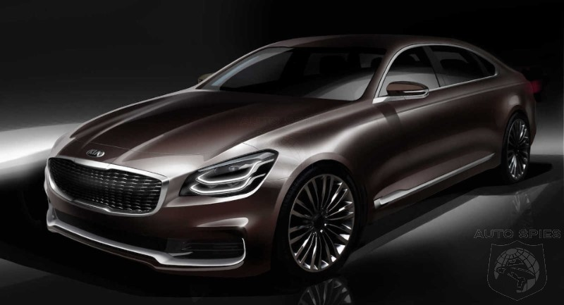 Kia Continues To Taunt The Germans With Next Generation K900 - Wouldn't Lexus Be A Better Target?