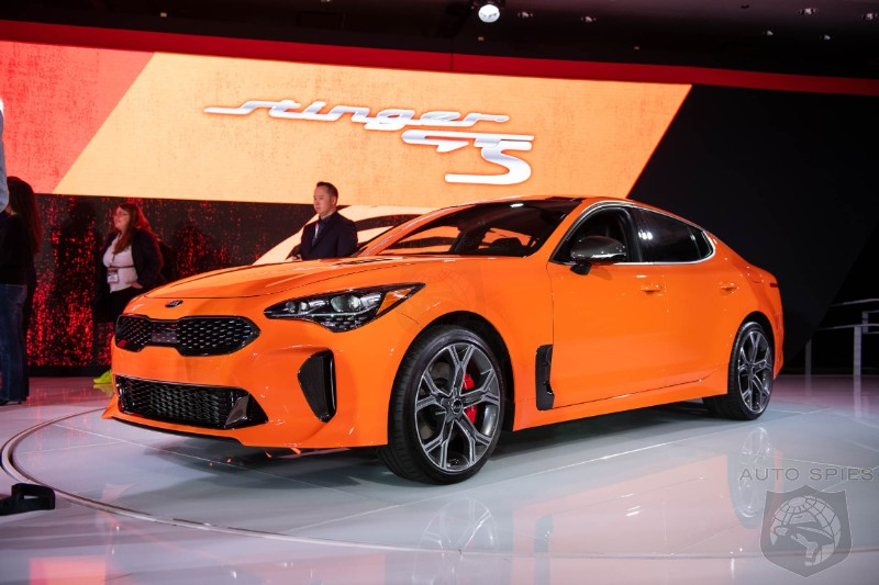 Kia May Keep The Stinger As An EV Model