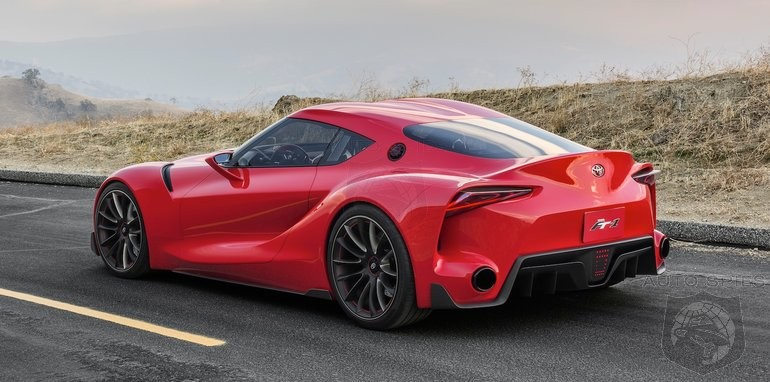 Say What? New Supra WILL NOT Carry A Toyota Badge