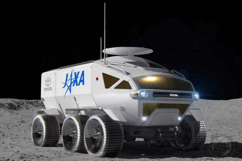 46 Years After First Lunar Rover On The Moon Toyota Answers With Their Own