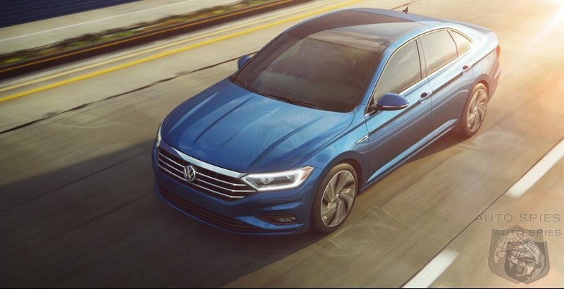 #NAIAS: Volkswagen Gives The 2019 Jetta Some CC Swagger - Will That Set It Apart In A Sea Of Asian Econoboxes?