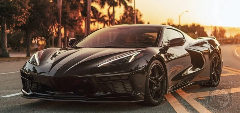 GM Trademarks E-Ray Name - Did Joe Biden Really Know An Electric Corvette Was On The Way?