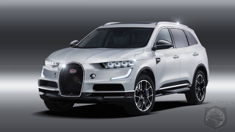 Bugatti Claims It Has No Intention Of Falling Into The SUV Rut