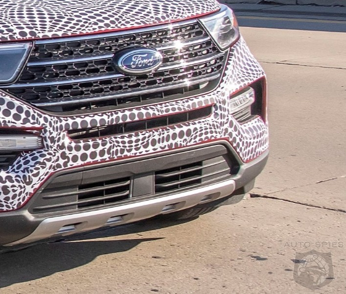 The 2020 Ford Explorer