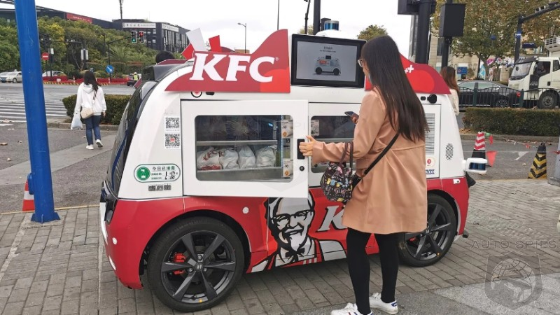 AND WE GOT HERE HOW? Fast Food Moves To Put Self Driving Food Trucks On The Road