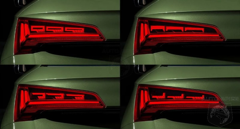 2021 Audi Q5 Taillights Will Warn Tailgaters They Are Too Close