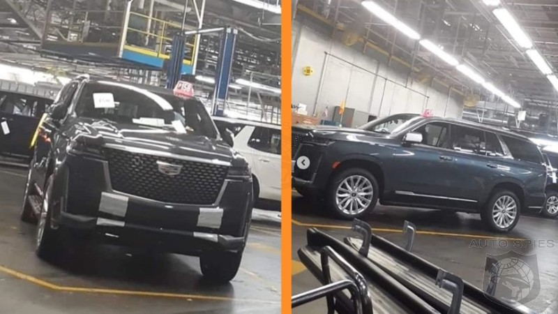 Did The 2021 Cadillac Escalade ALREADY Leak Out On ...
