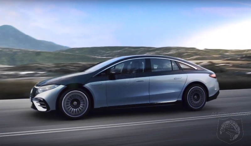 Mercedes Benz Reveals The 2022 EQS: The Electric S-Class
