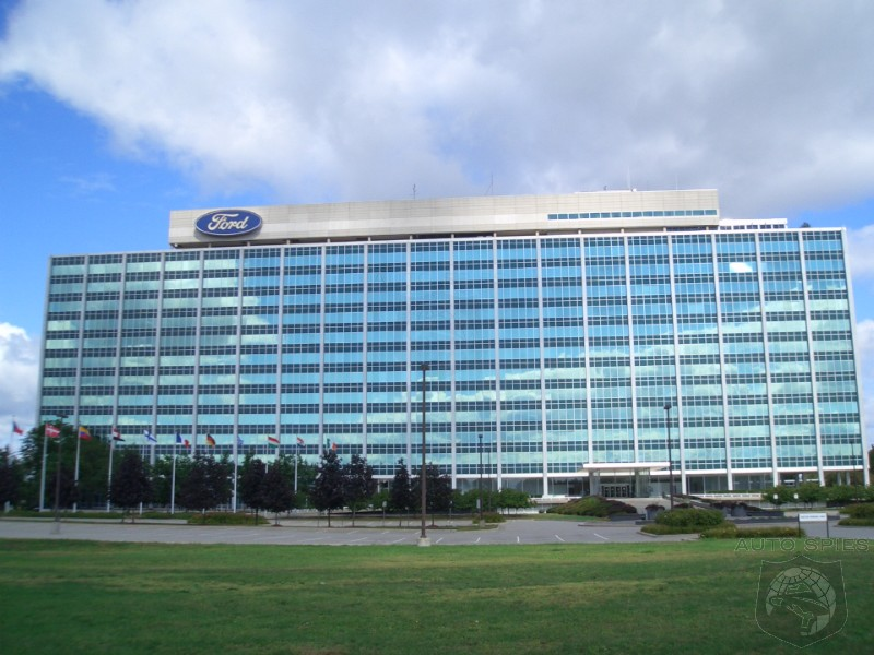 Ford says it is not interested in going to the altar with for Ford motors corporate office
