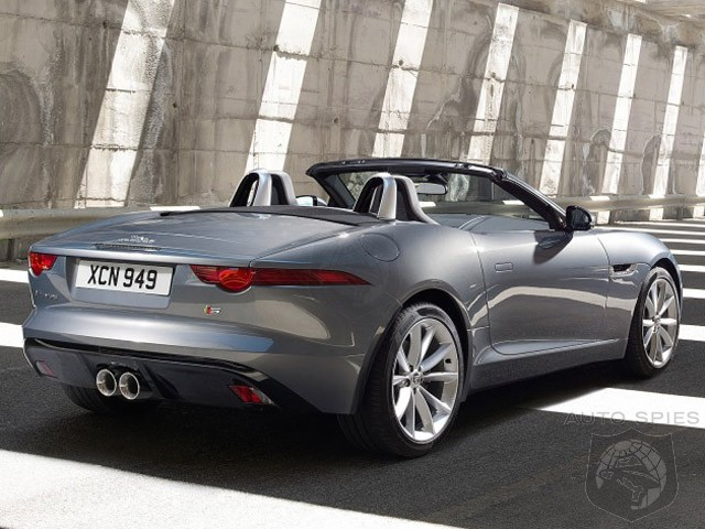 Jaguar F-Type Platform To Spawn New SUV And Sedan