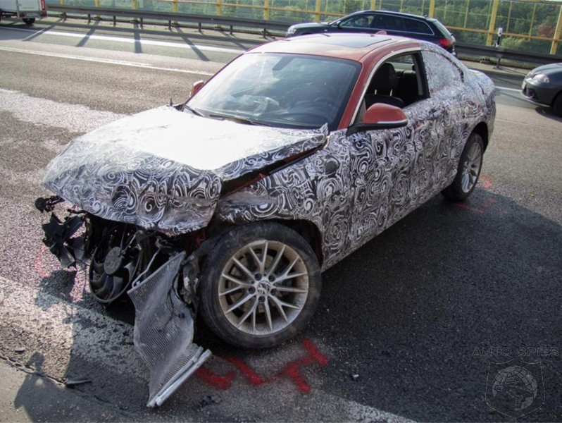 BMW 2-Series Prototype Wipes Out On The Autobahn During Testing
