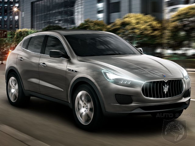 Maserati Planning To Take On The Germans With A Second SUV?