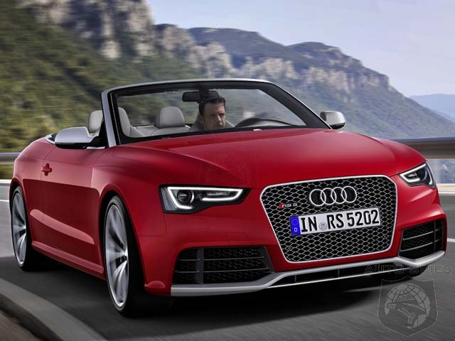 DETROIT AUTO SHOW: Look Out M3, Audi Confirms RS5 Cabriolet For US Market