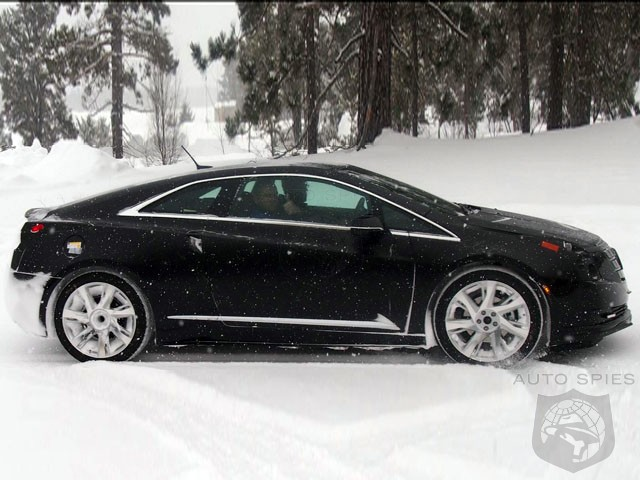 2014 Cadillac ELR Caught During Winter Testing