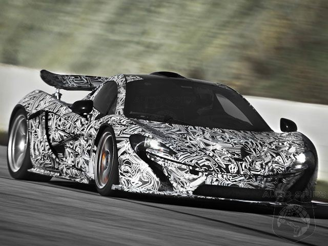 Mclaren P1 Hybrid to Produce Over 900 HP