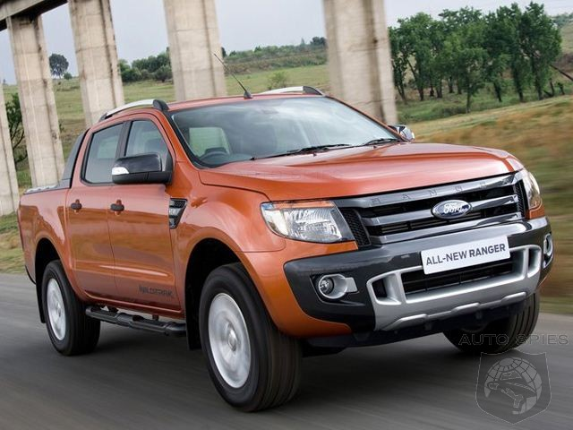 Ford Ponders New Unibody Ranger For US Market