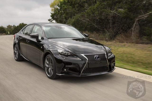 Lexus Undercuts Germans By Claiming IS300h Cost Less To Maintain Than