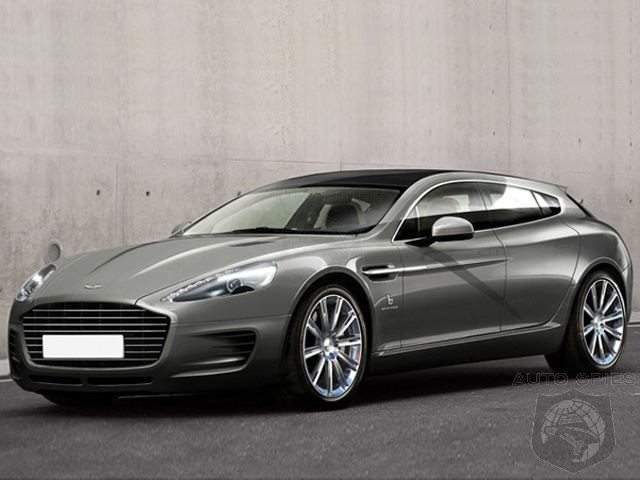 STUD OR DUD? Bertone Reveals Aston Rapide Jet 2+2 Shooting Brake Concept