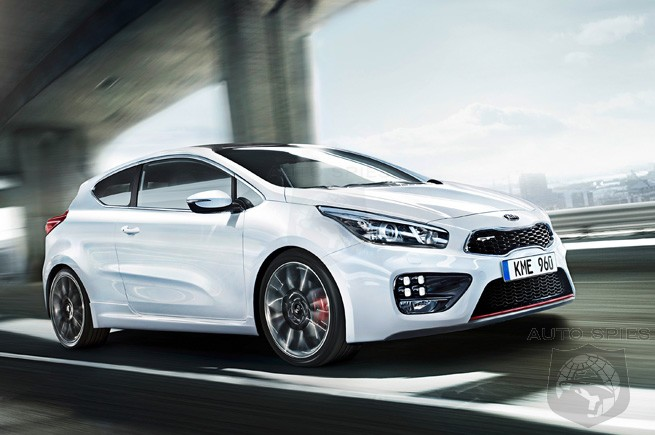 A Korean GTI? First Shots Of Kia Proceed GT Slip Out