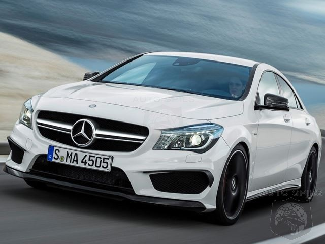 NEW YORK AUTO SHOW: Mercedes-Benz CLA45 AMG Slips Out Ahead Of Schedule