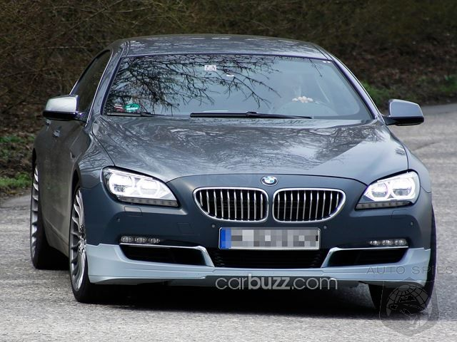 STUD OR DUD? Alpina's BMW 6 Series Gran Coupe Caught In The Nude